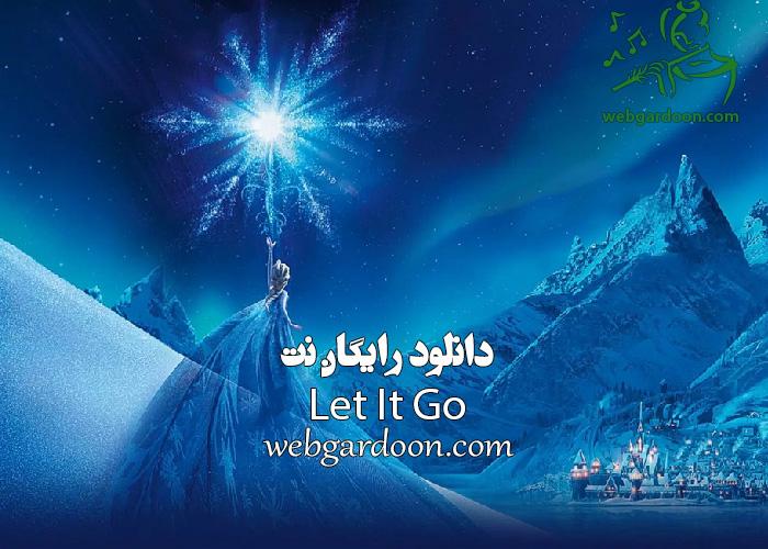 دانلود رایگان نت Let It Go از frozen