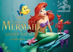 دانلود رایگان نت under the sea از the little mermaid