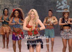 دانلود رایگان نت waka waka از shakira