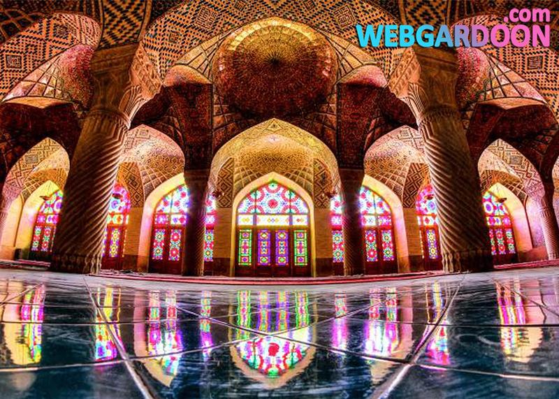 شگفتی های معماری شیراز: از مسجد صورتی تا باغ بهشت,وبگردون,مجله اینترنتی وبگردون